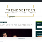 INTERVIEW We're No Gentlemen – Trendsetters