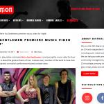 We re No Gentlemen premiere music video for Night Distrolution