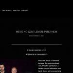 WE RE NO GENTLEMEN INTERVIEW — Unclear Magazine