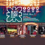 blast stage records